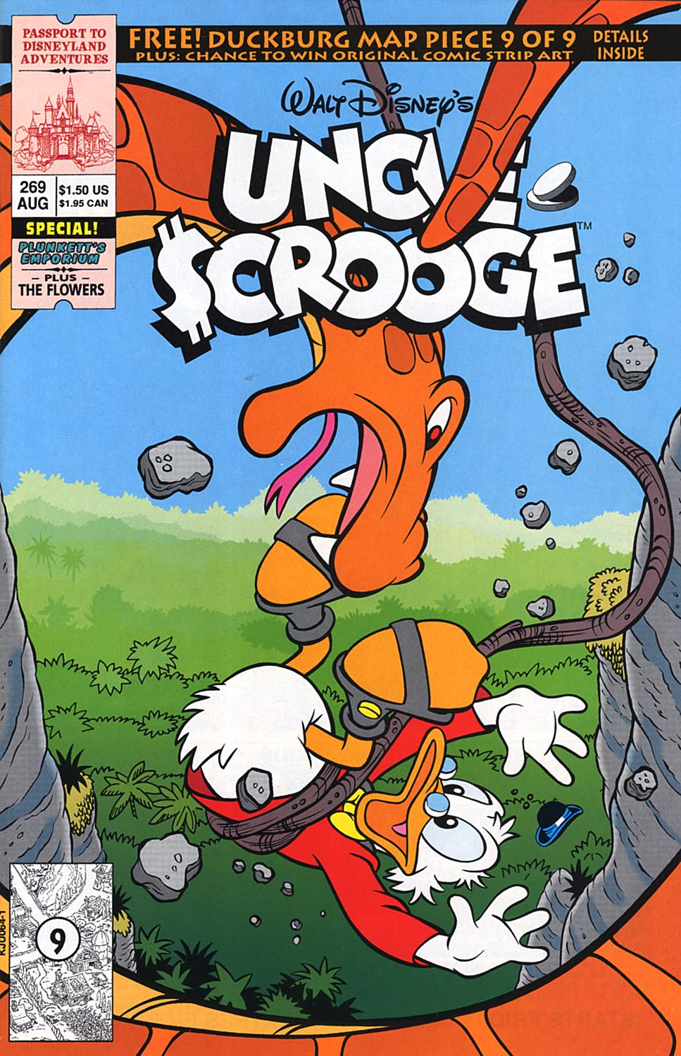 Uncle Scrooge (1953) Issue #269 #269 - English 1