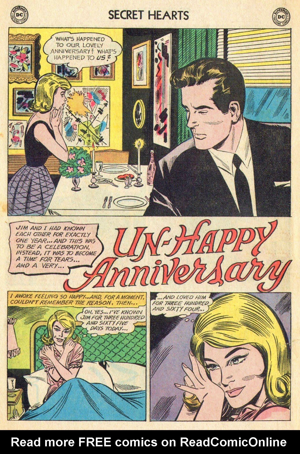 Read online Secret Hearts comic -  Issue #101 - 10