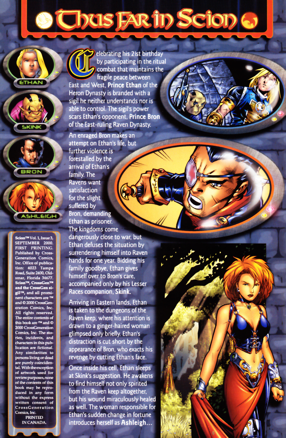 Read online Scion comic -  Issue #3 - 2