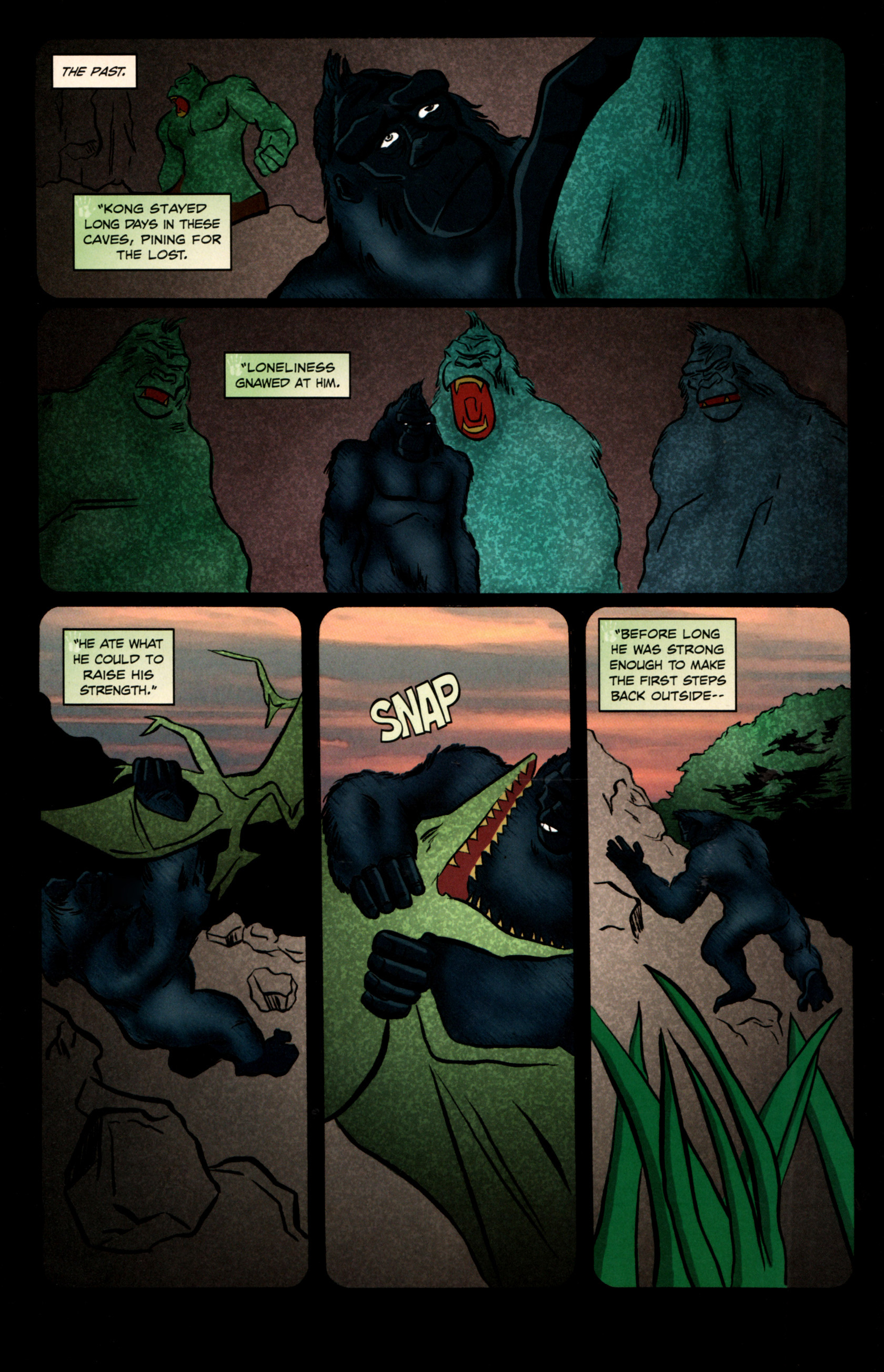 Read online Kong: King Of Skull Island comic -  Issue #5 - 10