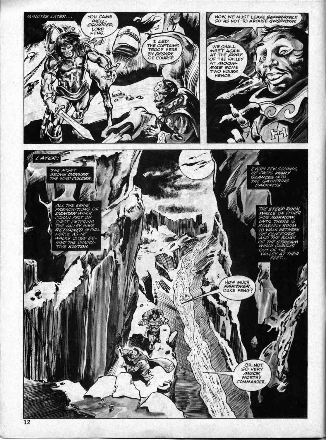 The Savage Sword Of Conan Issue #33 #34 - English 11