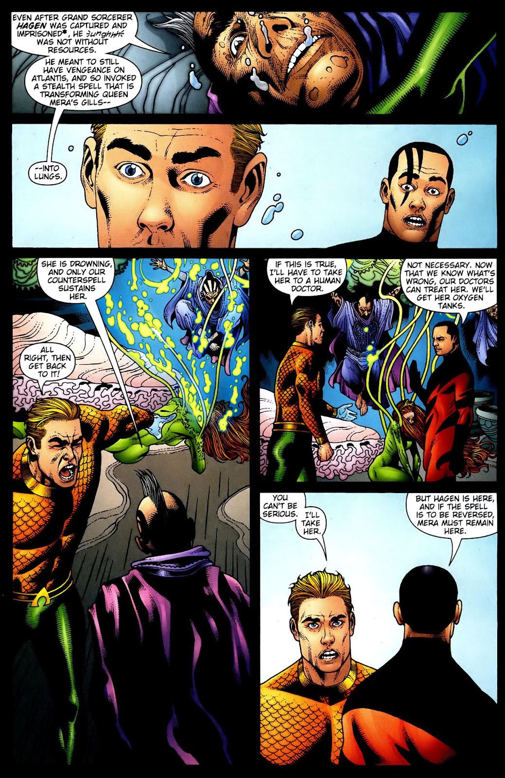 Aquaman (2003) Issue #34 #34 - English 8