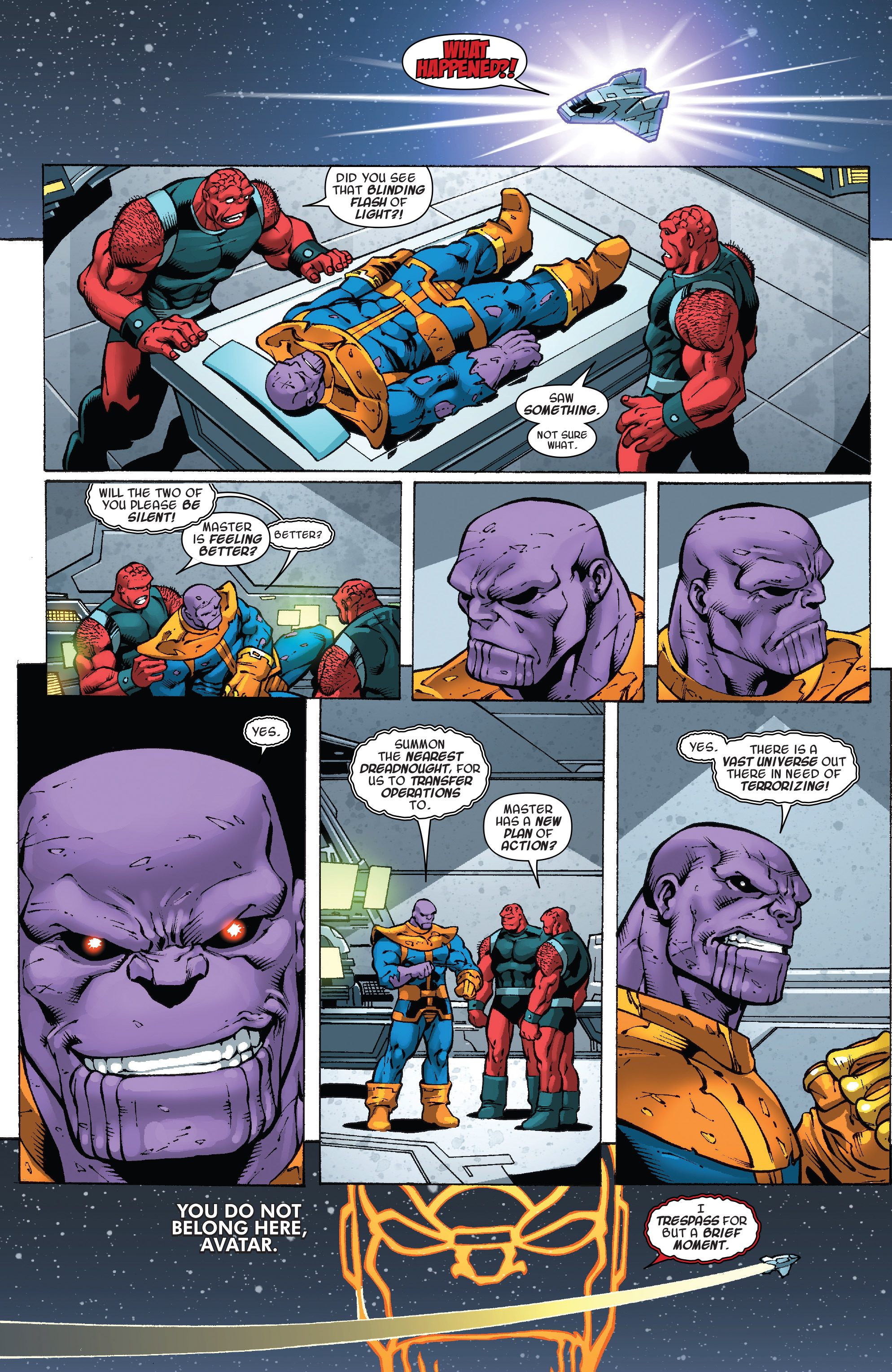 Read online Thanos Annual comic -  Issue # Annual - 28