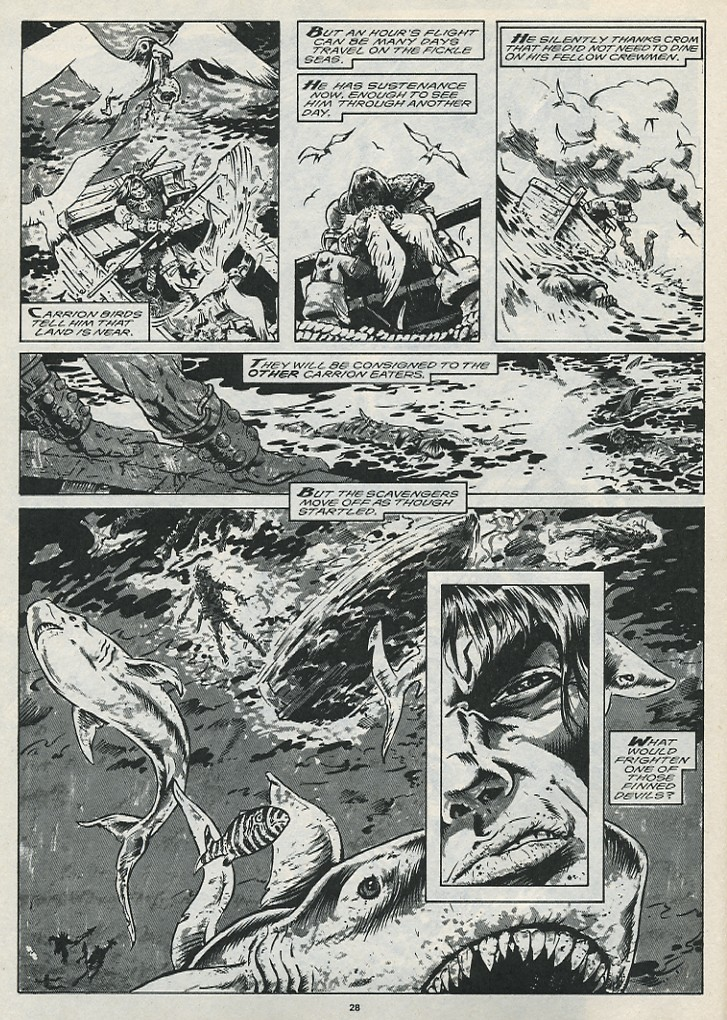The Savage Sword Of Conan Issue #176 #177 - English 30