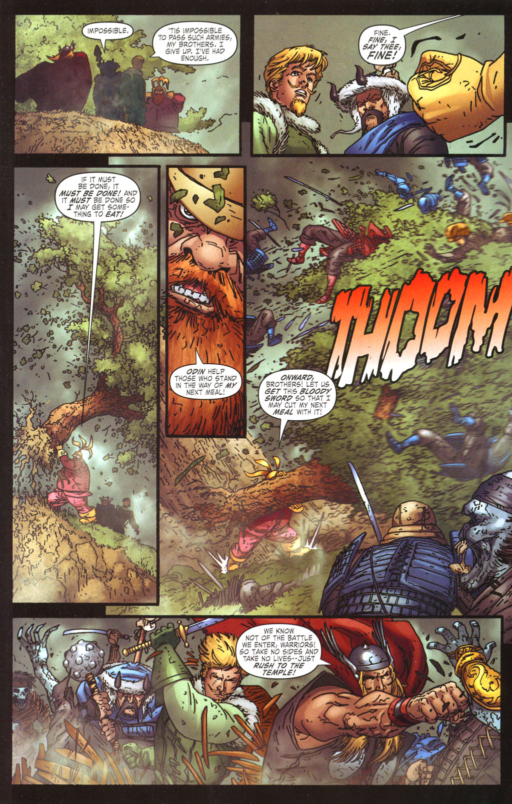 Read online Thor: Blood Oath comic -  Issue #5 - 17