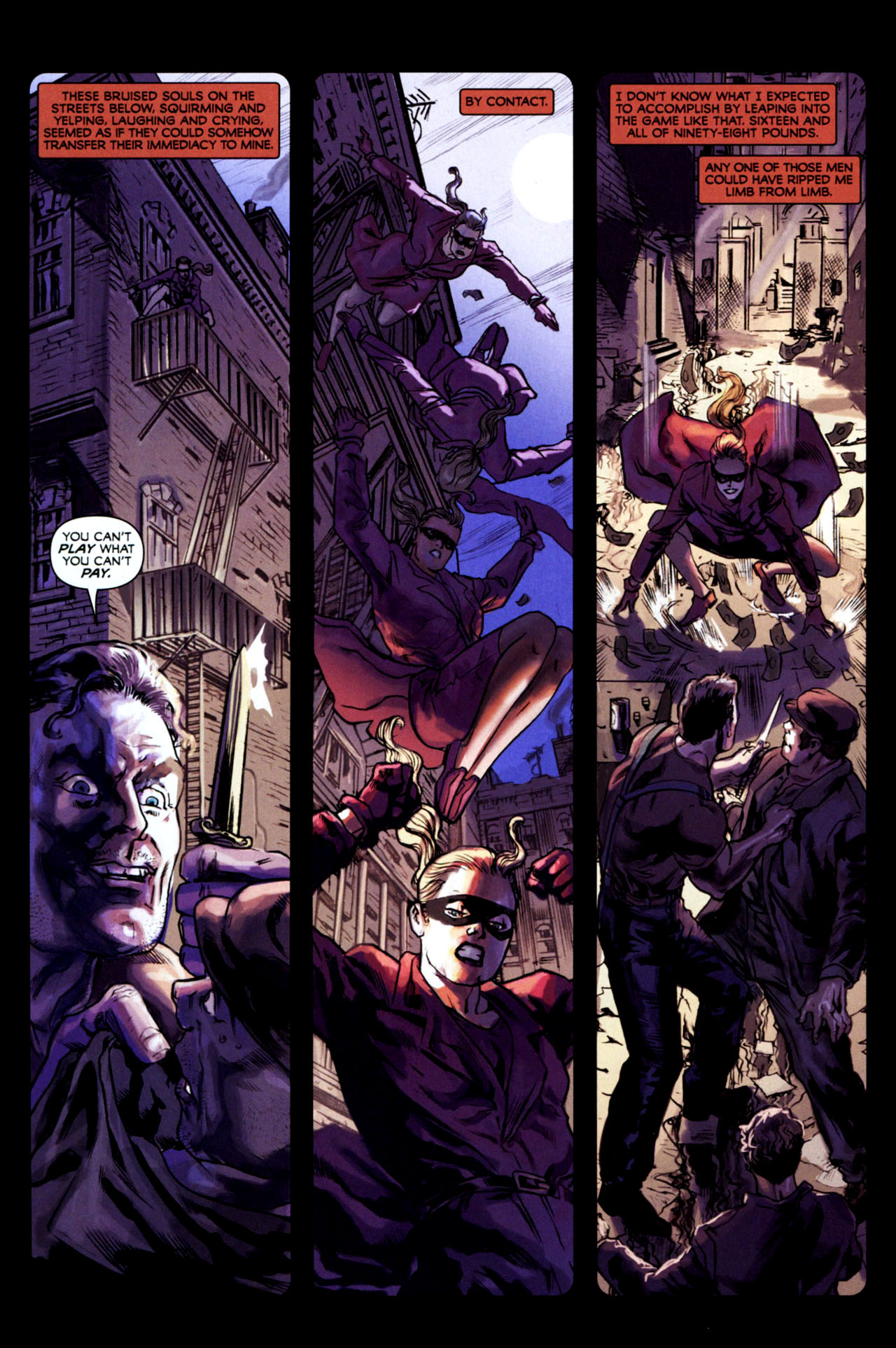 Read online Masquerade comic -  Issue #2 - 19