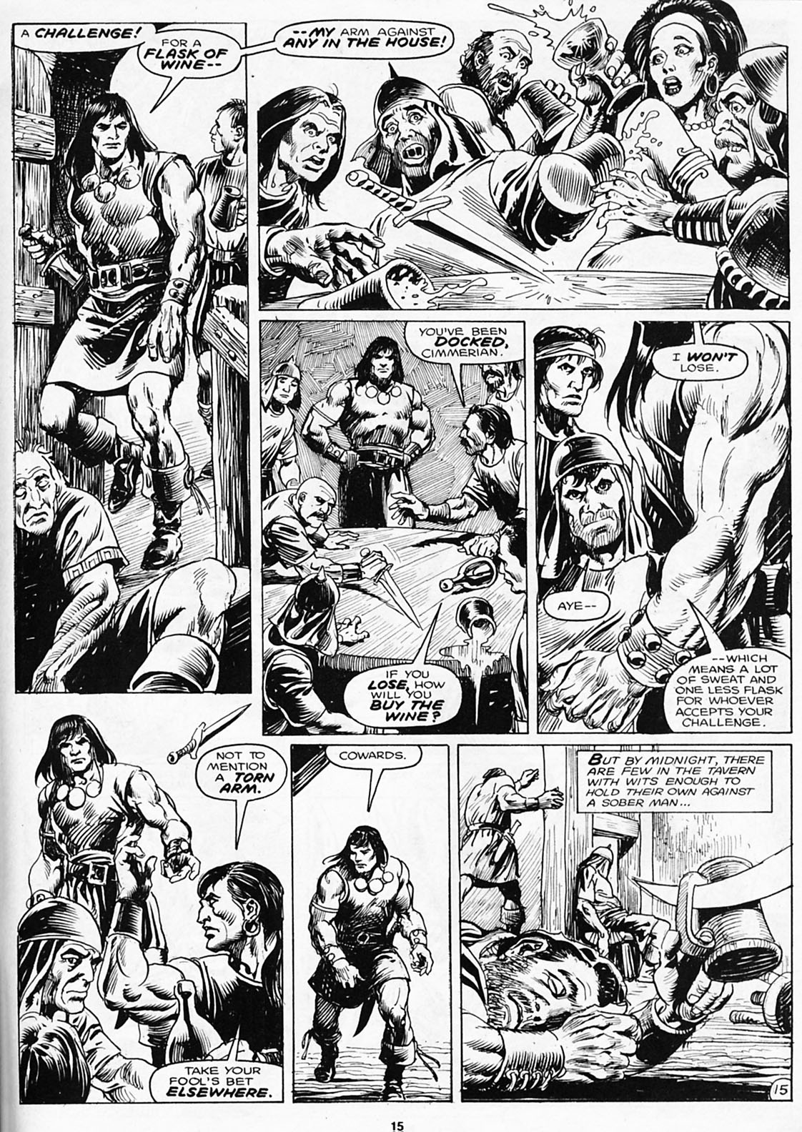 The Savage Sword Of Conan Issue #180 #181 - English 17