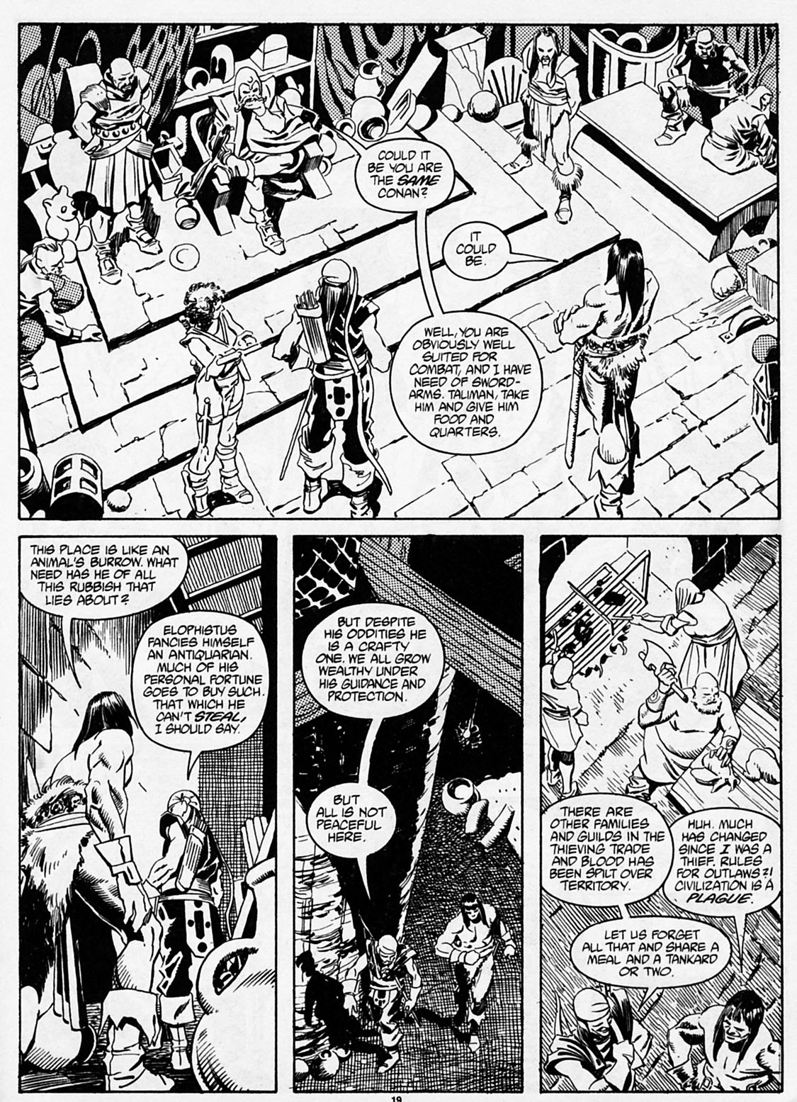 The Savage Sword Of Conan Issue #186 #187 - English 21