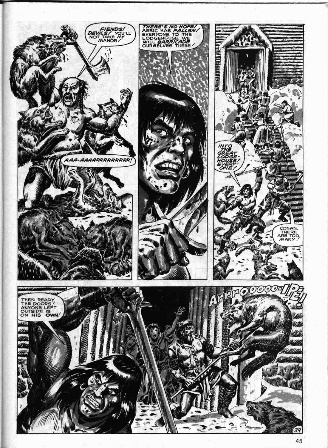 The Savage Sword Of Conan Issue #133 #134 - English 44