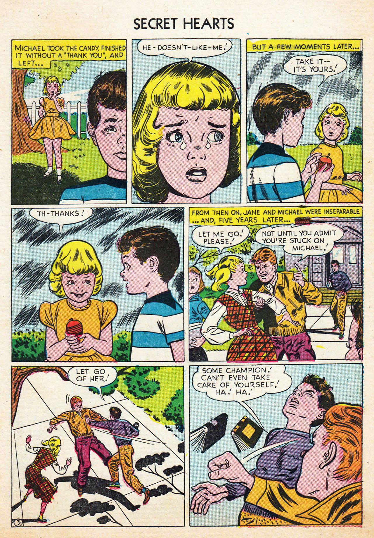 Read online Secret Hearts comic -  Issue #13 - 5