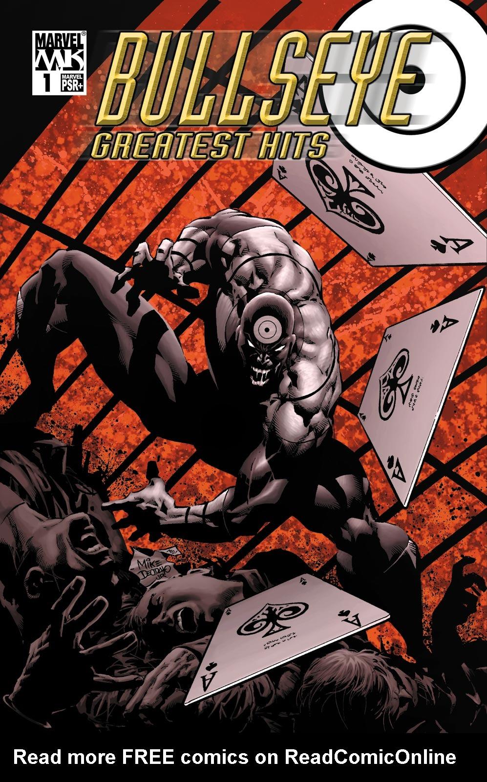 Bullseye: Greatest Hits 1 Page 1