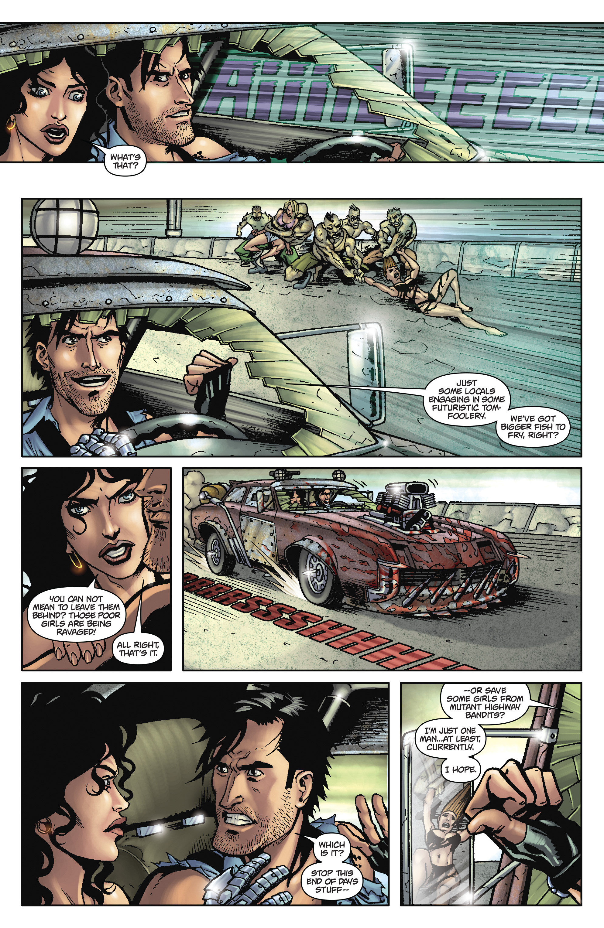 Army of Darkness: The Long Road Home TPB Page 27