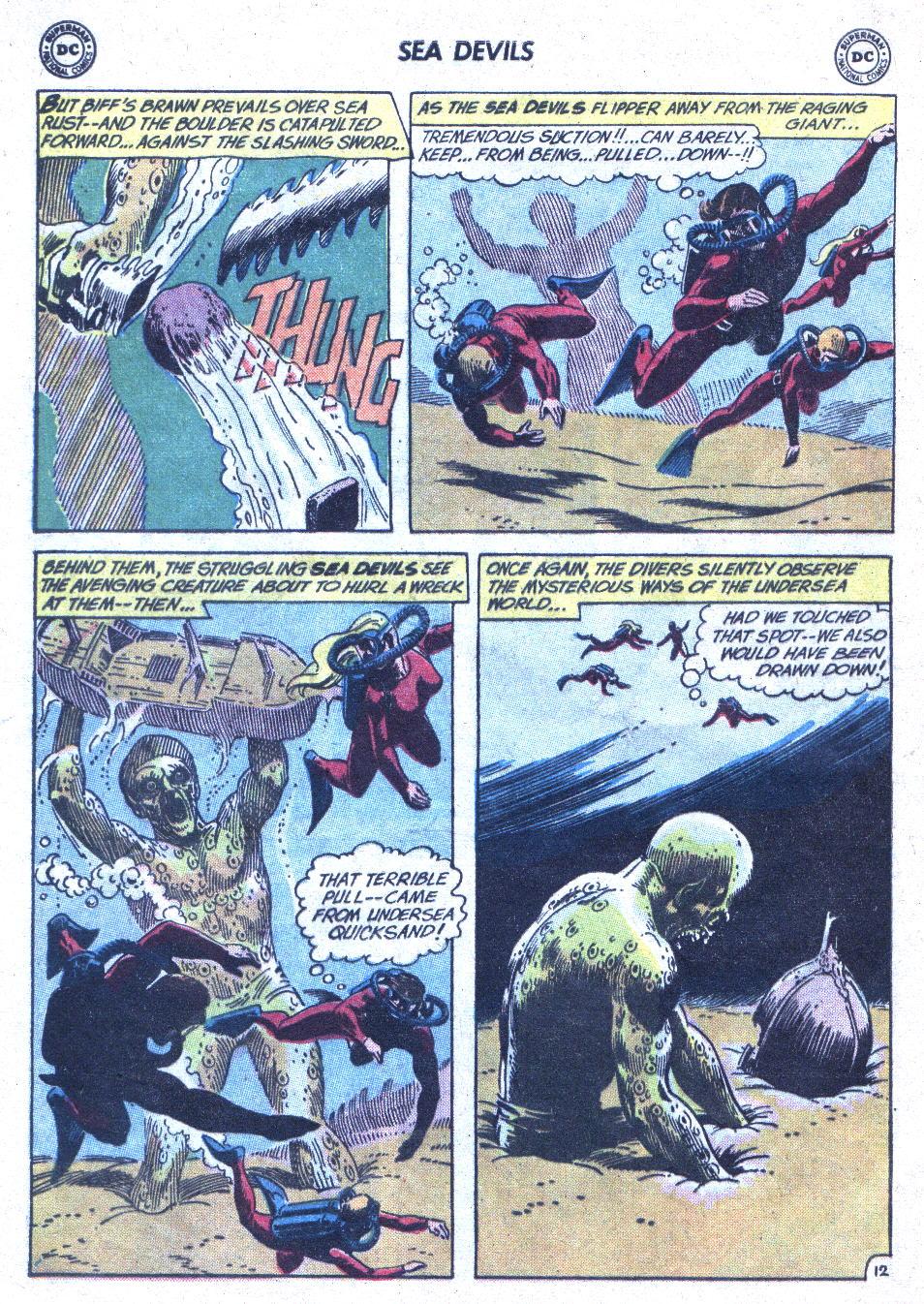 Read online Sea Devils comic -  Issue #1 - 17