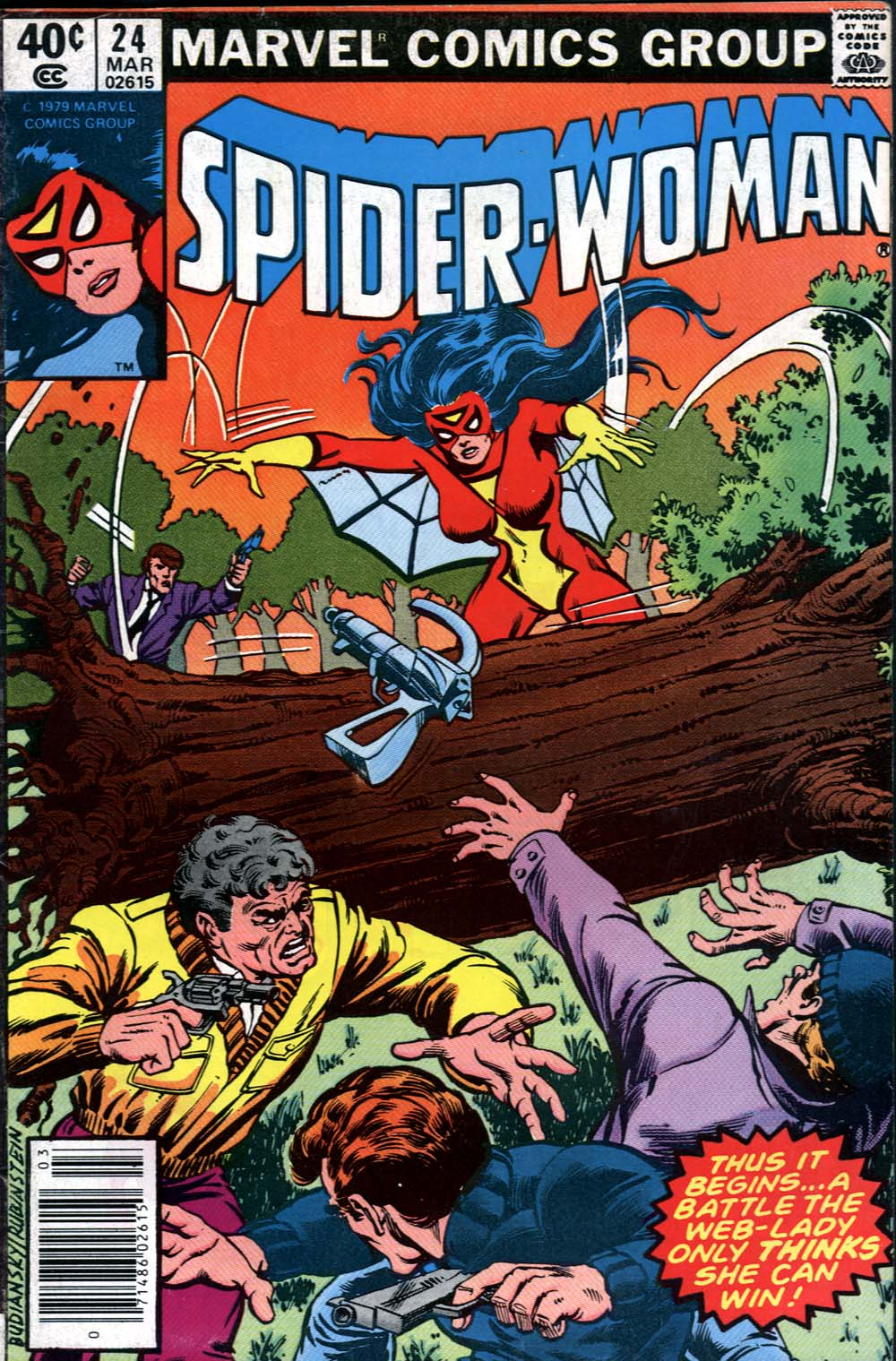 Spider-Woman (1978) Issue #24 #24 - English 1