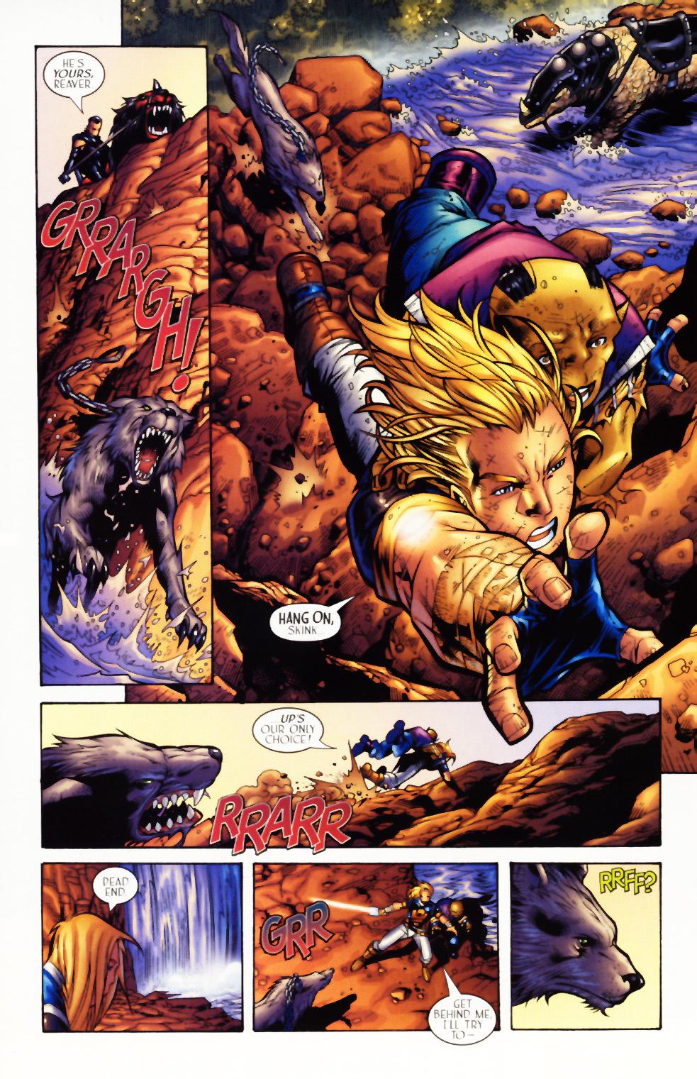 Read online Scion comic -  Issue #3 - 19