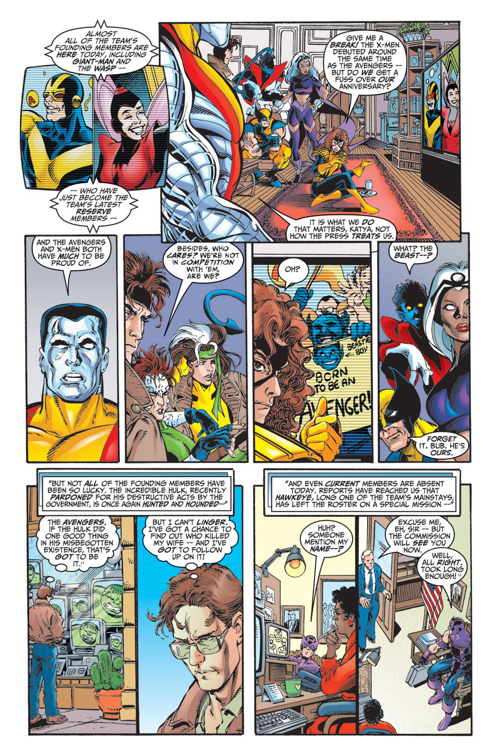 Read online Avengers (1998) comic -  Issue #10 - 7