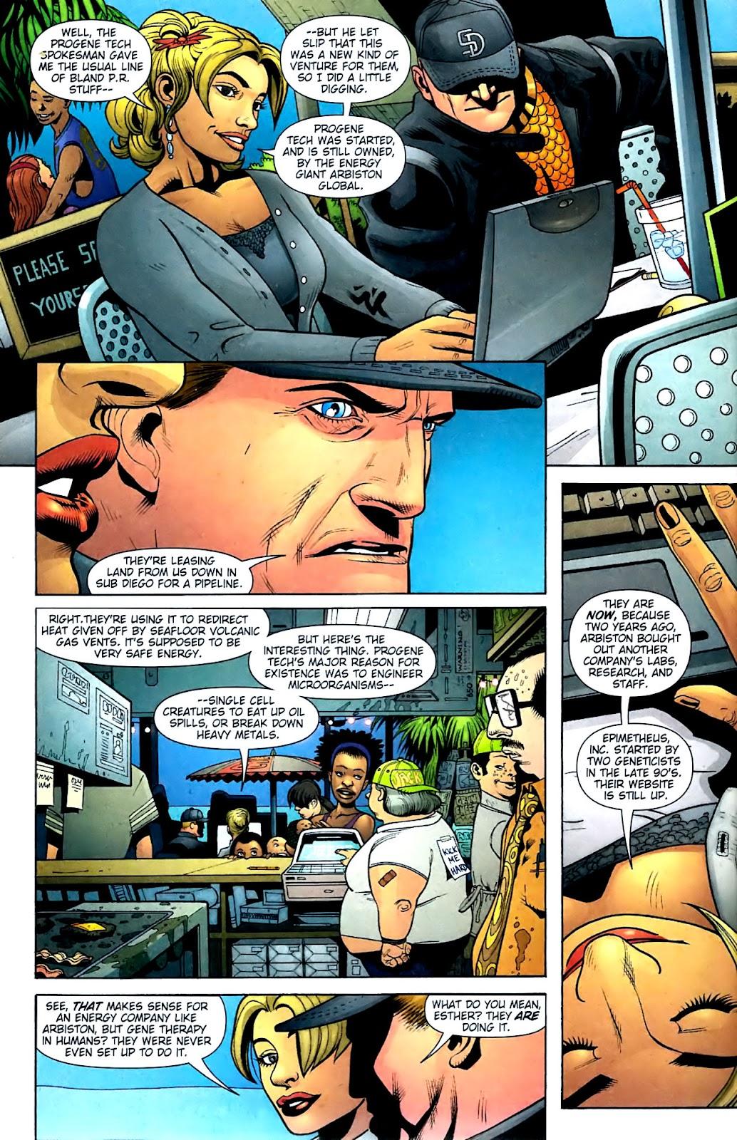 Aquaman (2003) Issue #32 #32 - English 7