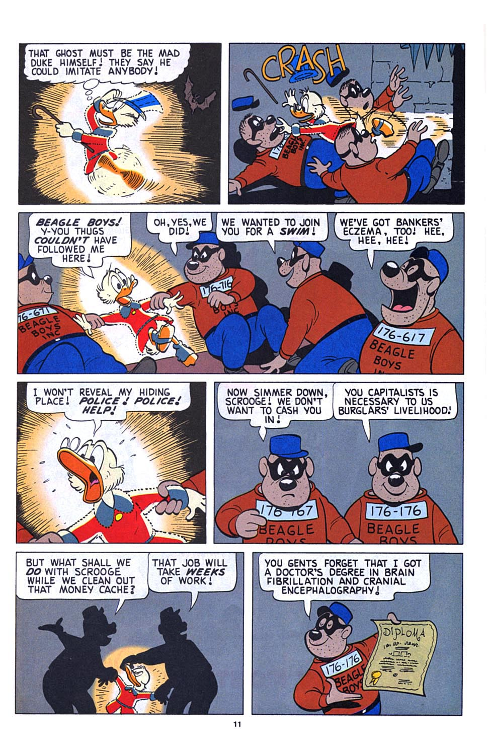 Uncle Scrooge (1953) Issue #273 #273 - English 12