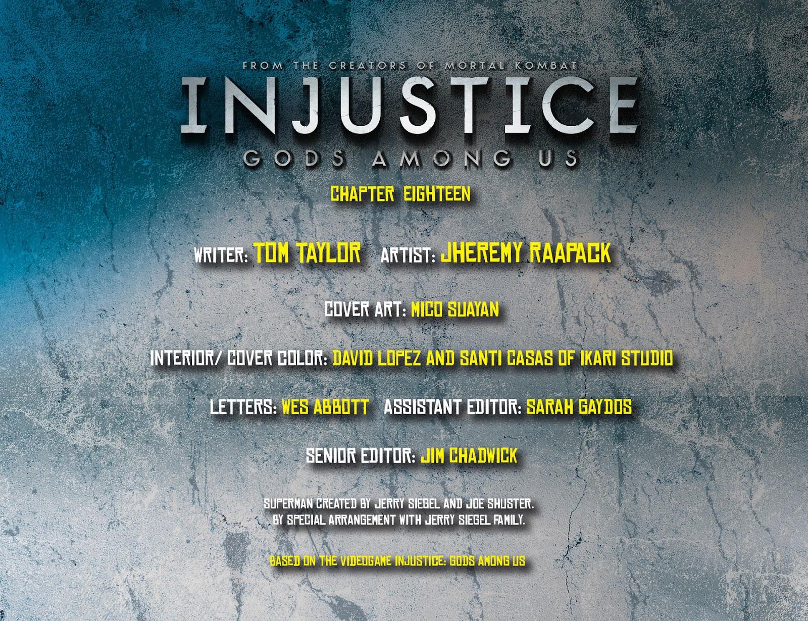Injustice: Gods Among Us [I] Issue #18 #19 - English 2