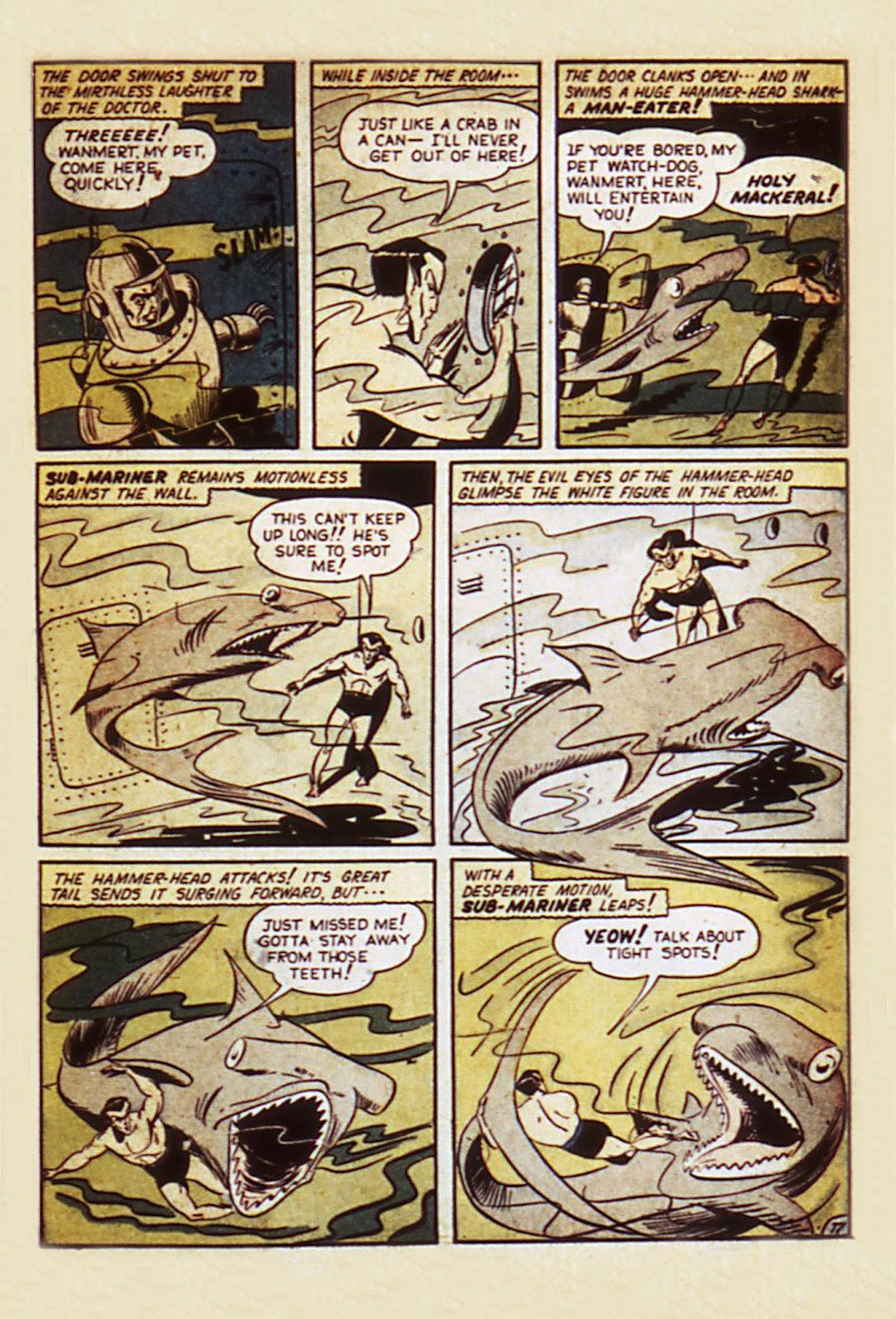 Sub-Mariner Comics Issue #7 #7 - English 19
