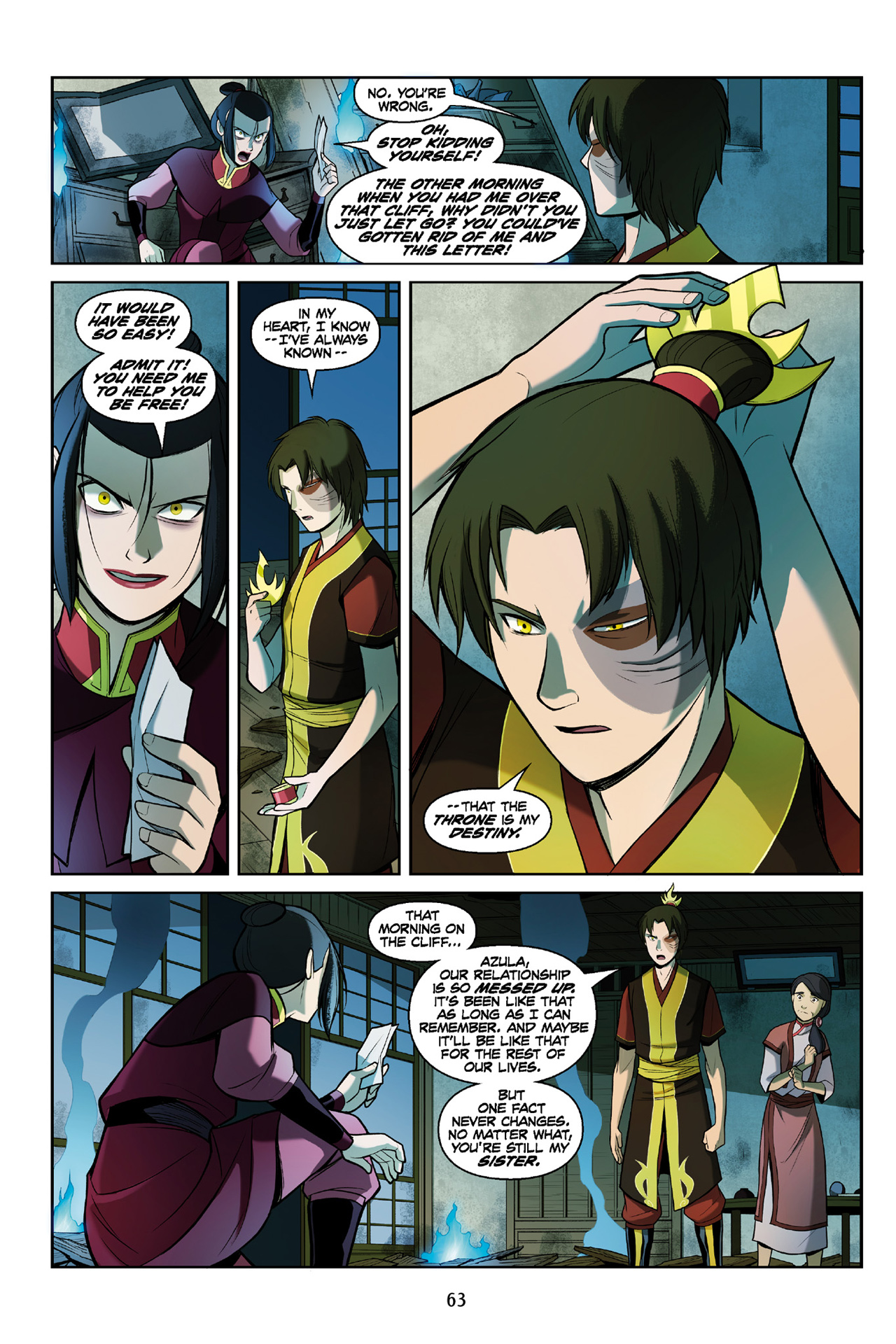 Read online Nickelodeon Avatar: The Last Airbender - The Search comic -  Issue # Part 3 - 64