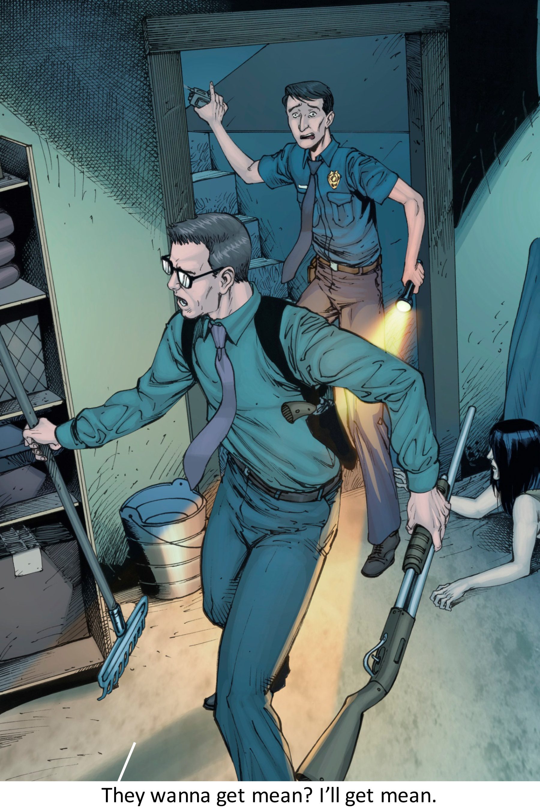 Read online Z-Men comic -  Issue #3 - 99