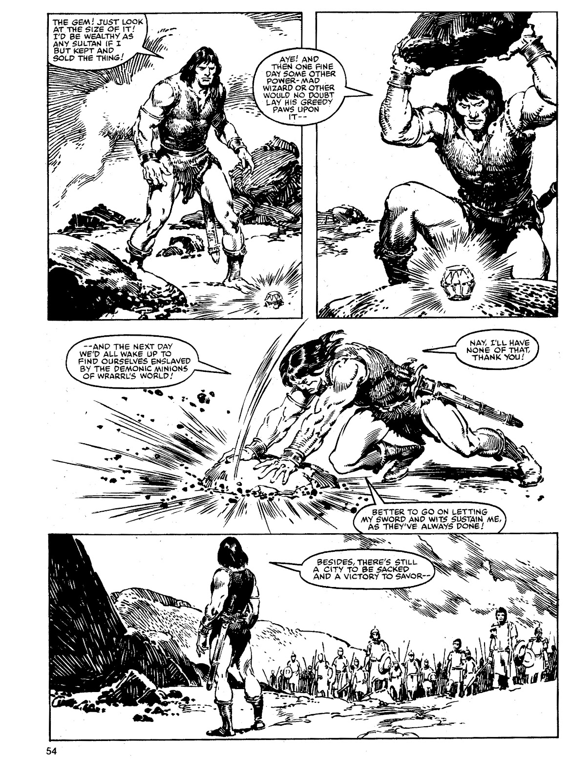The Savage Sword Of Conan Issue #90 #91 - English 53