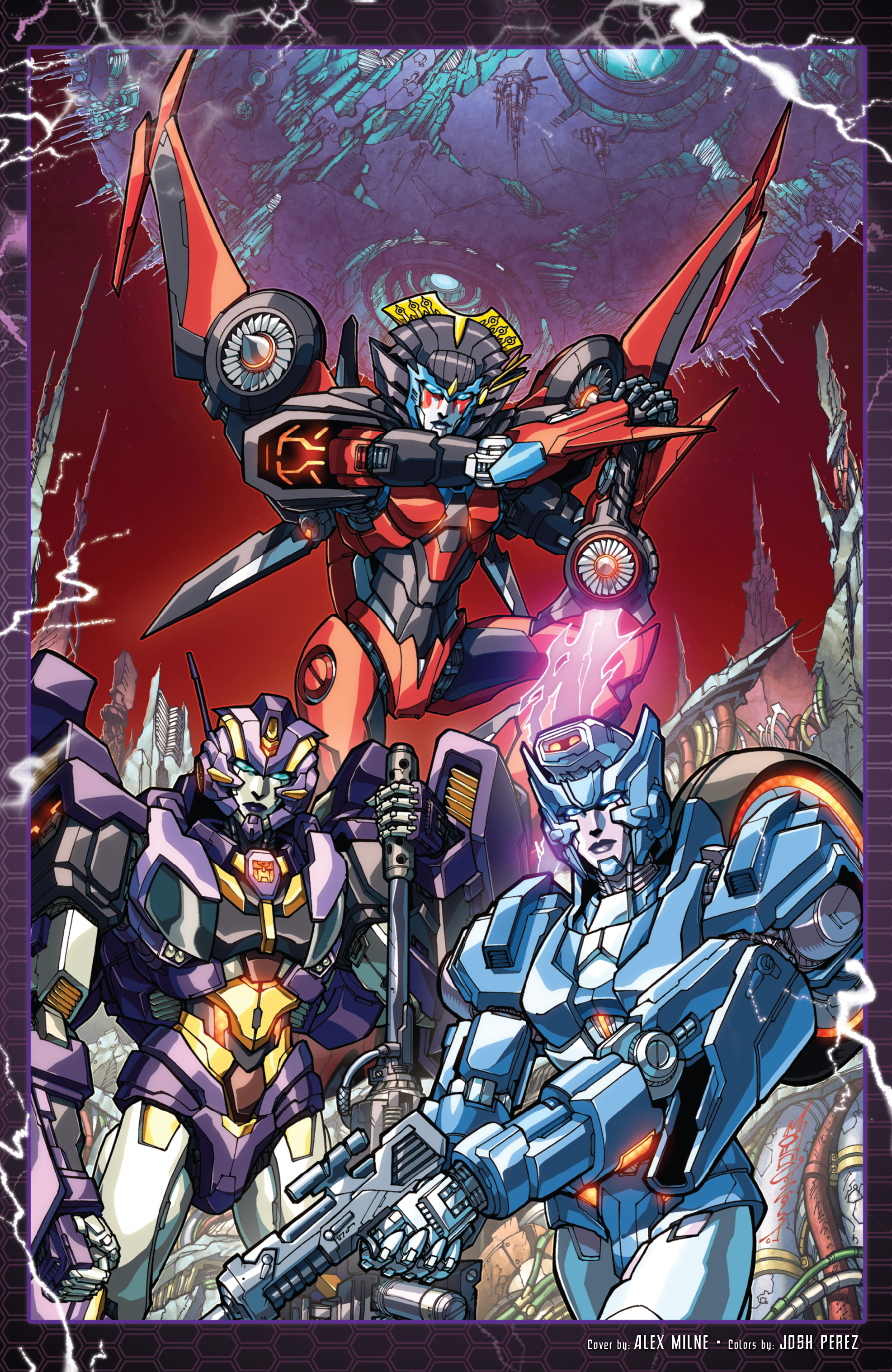 Read online The Transformers: Dark Cybertron Finale comic -  Issue # Full - 154