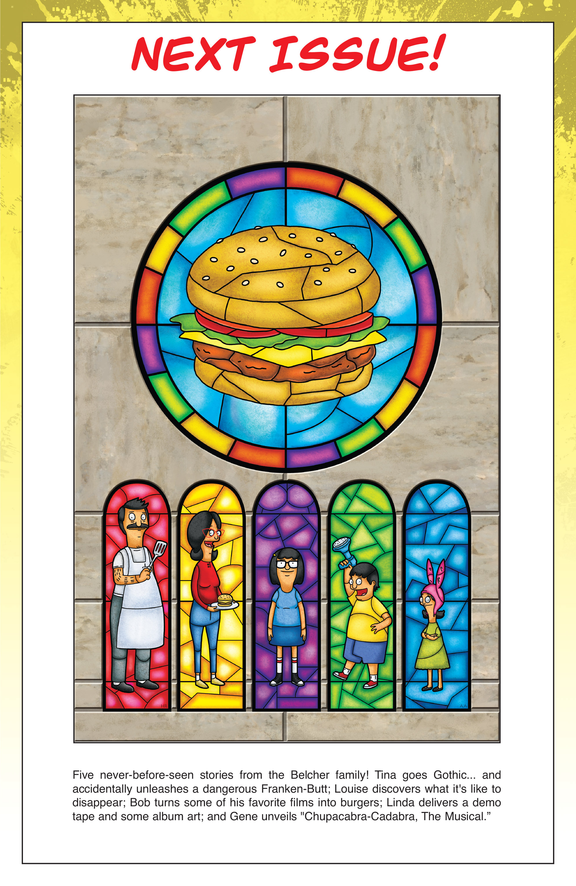 Read online Bob's Burgers (2014) comic -  Issue #3 - 25