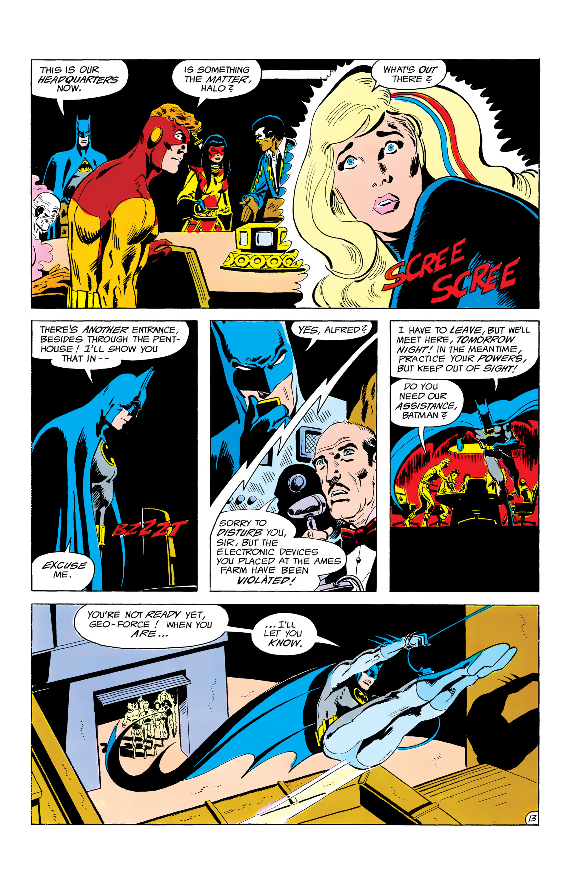 Batman and the Outsiders (1983) 3 Page 13