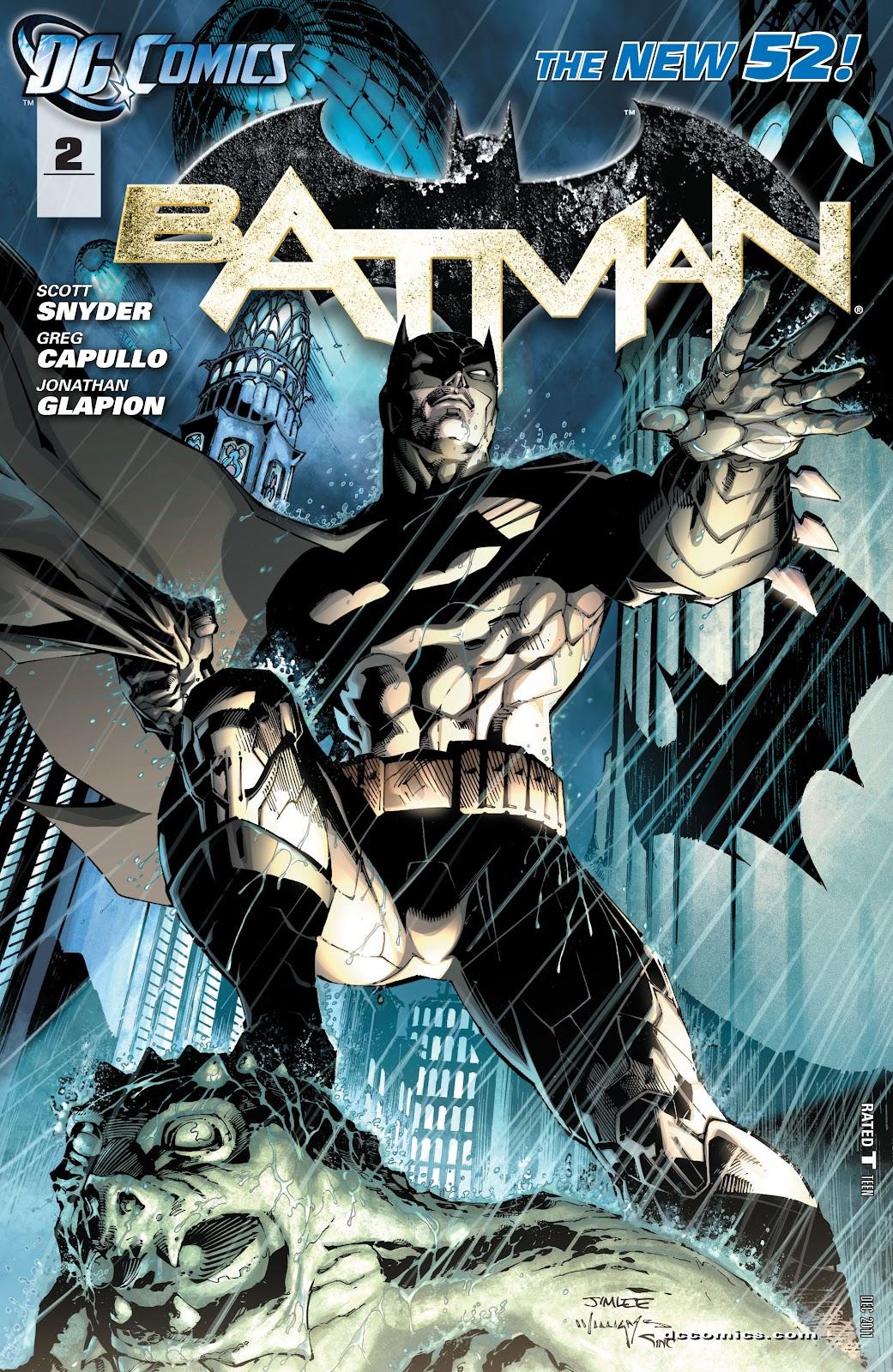 Batman (2011) Issue #2 #17 - English 2