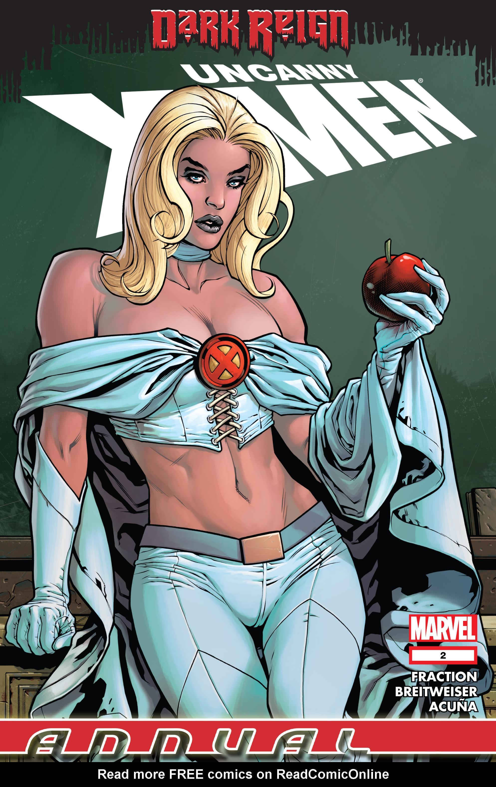 Uncanny X-Men (1963) _Annual_2_(2009) Page 1