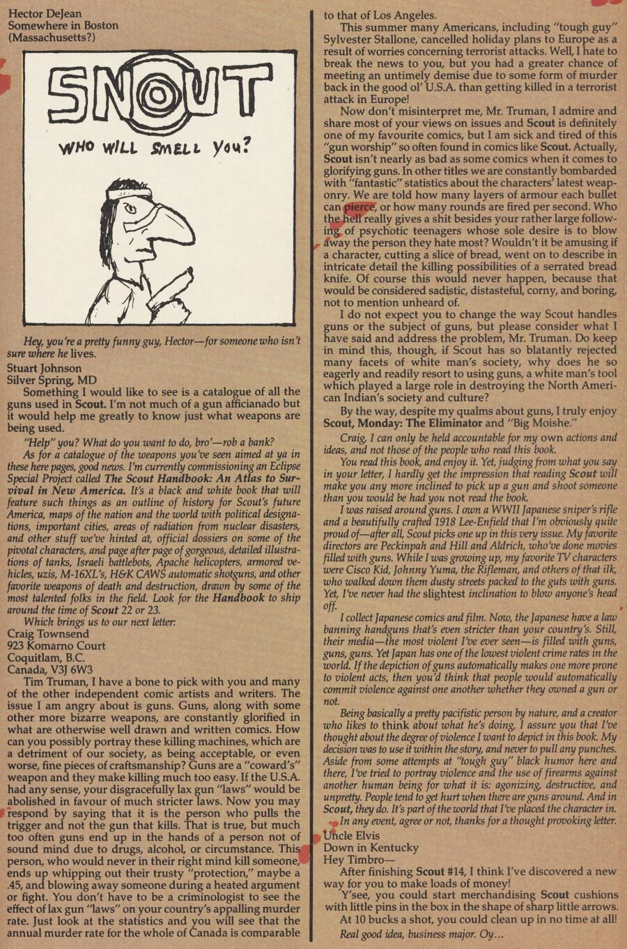 Read online Scout comic -  Issue #17 - 29