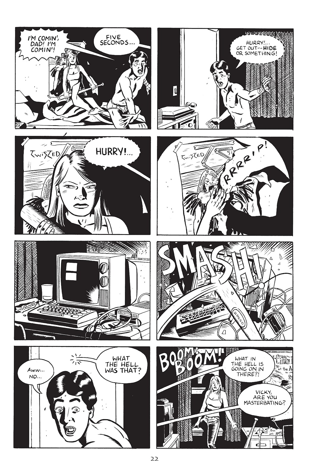 Stray Bullets Issue #30 #30 - English 24