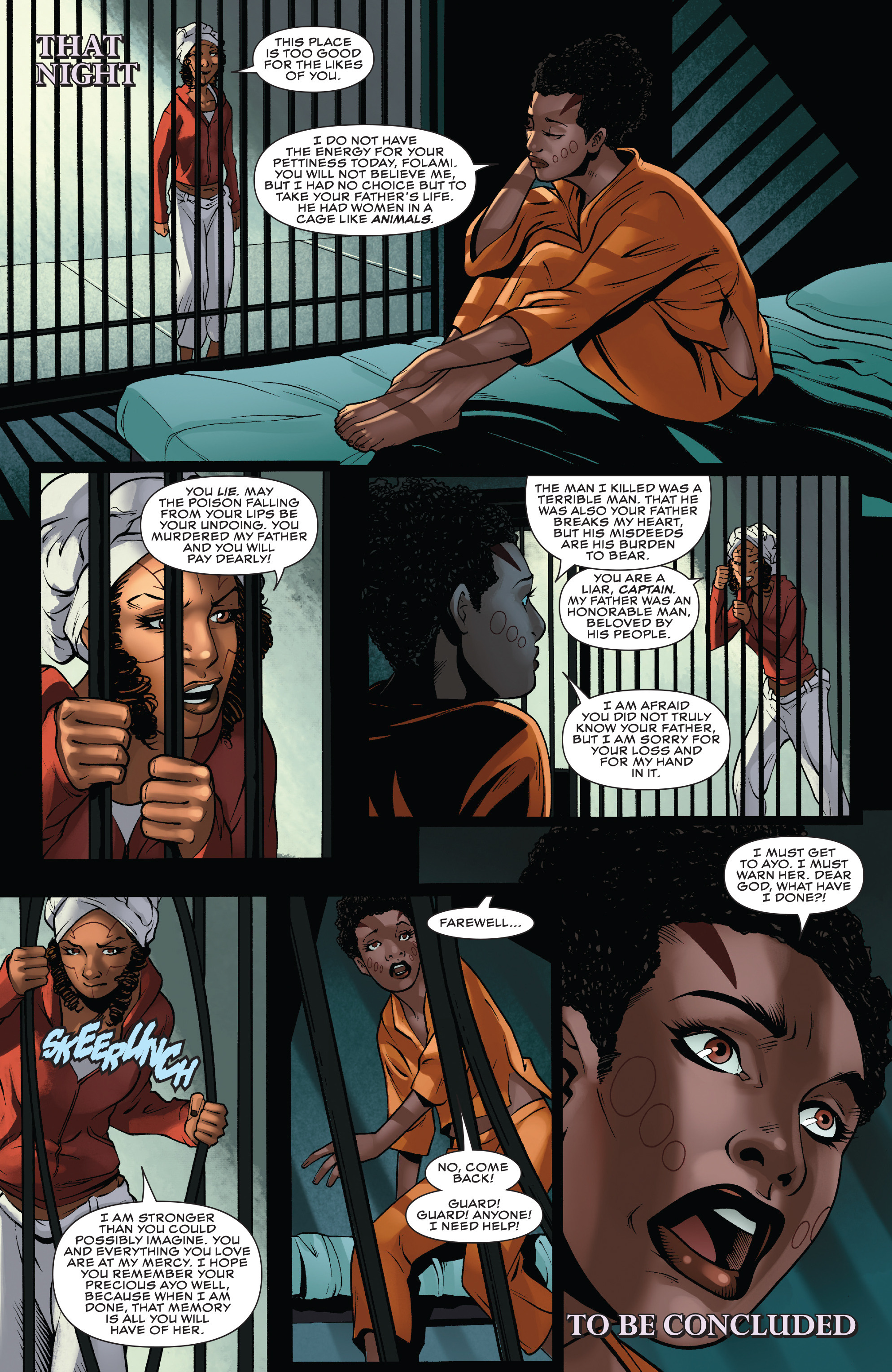 Read online Black Panther: World of Wakanda comic -  Issue #4 - 23