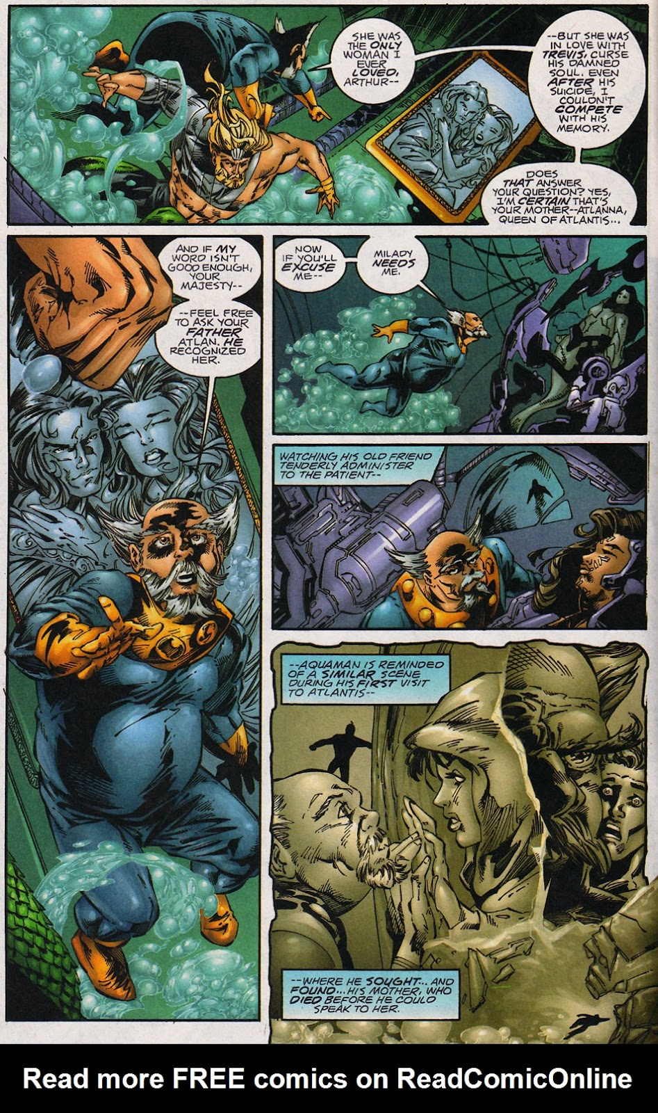 Aquaman (1994) Issue #59 #65 - English 5
