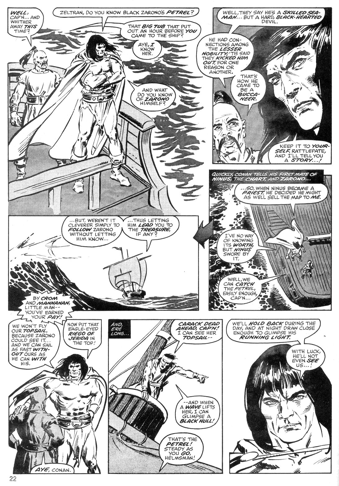 The Savage Sword Of Conan Issue #40 #41 - English 22