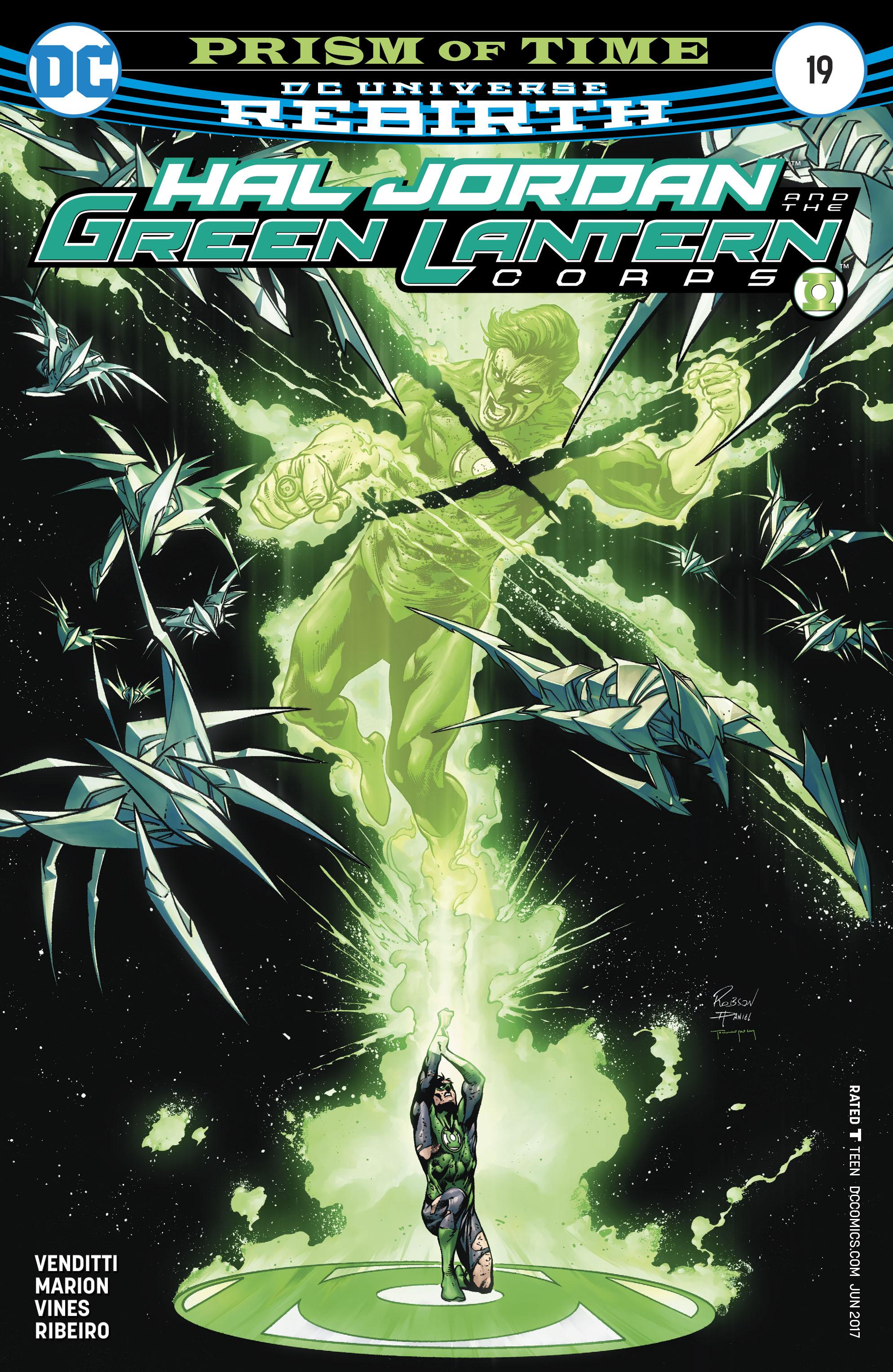 Hal Jordan & the Green Lantern Corps: Rebirth issue 19 - Page 1