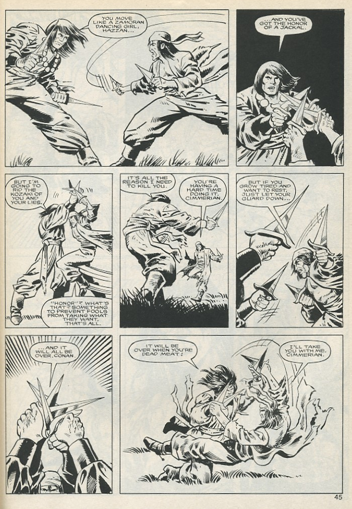 The Savage Sword Of Conan Issue #131 #132 - English 45