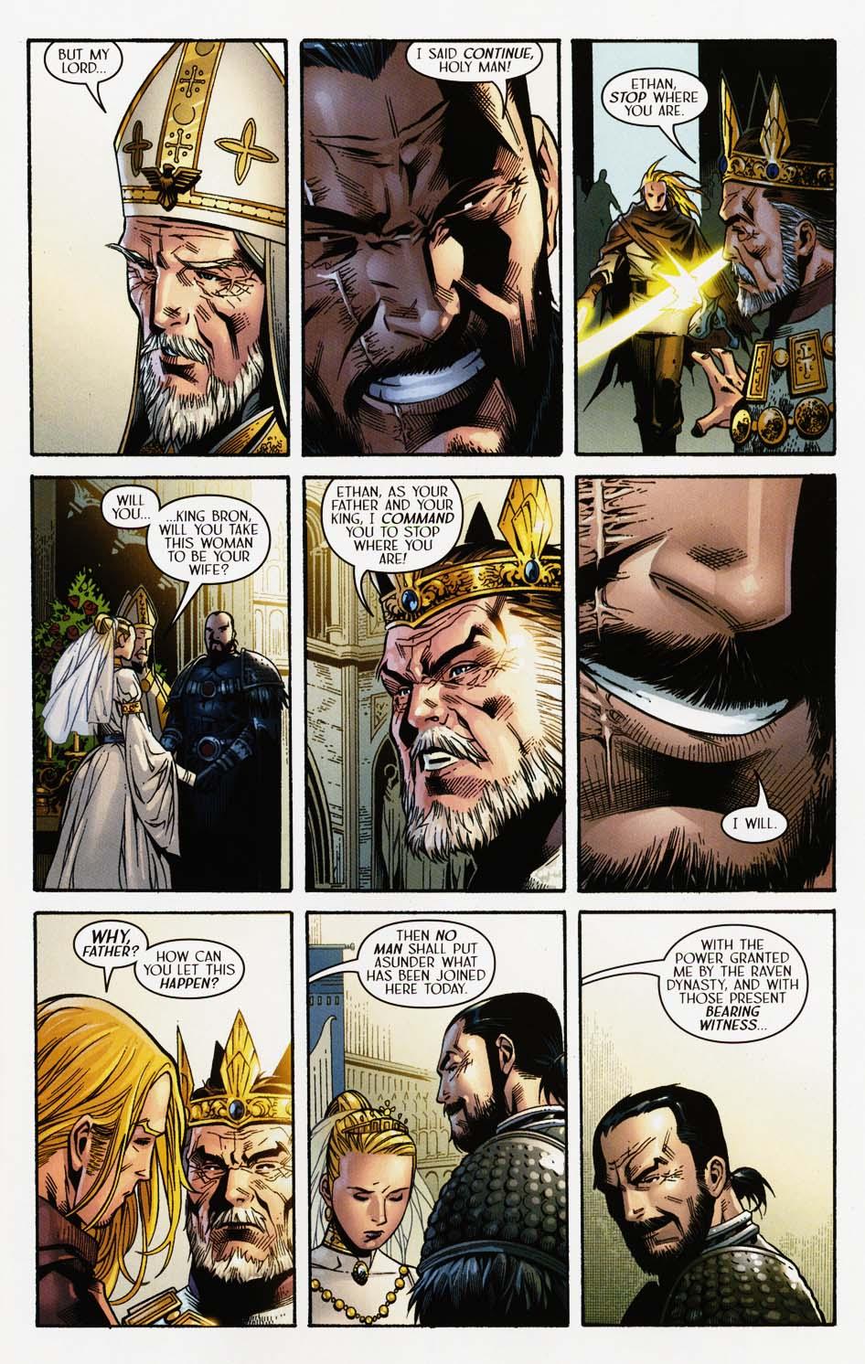 Read online Scion comic -  Issue #35 - 21