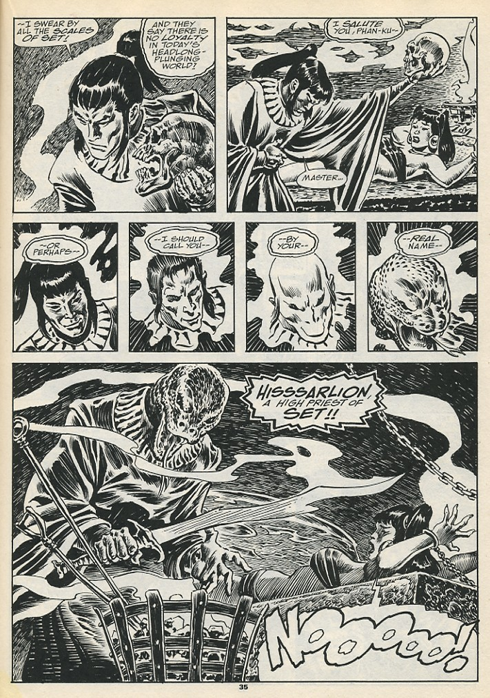 The Savage Sword Of Conan Issue #192 #193 - English 37