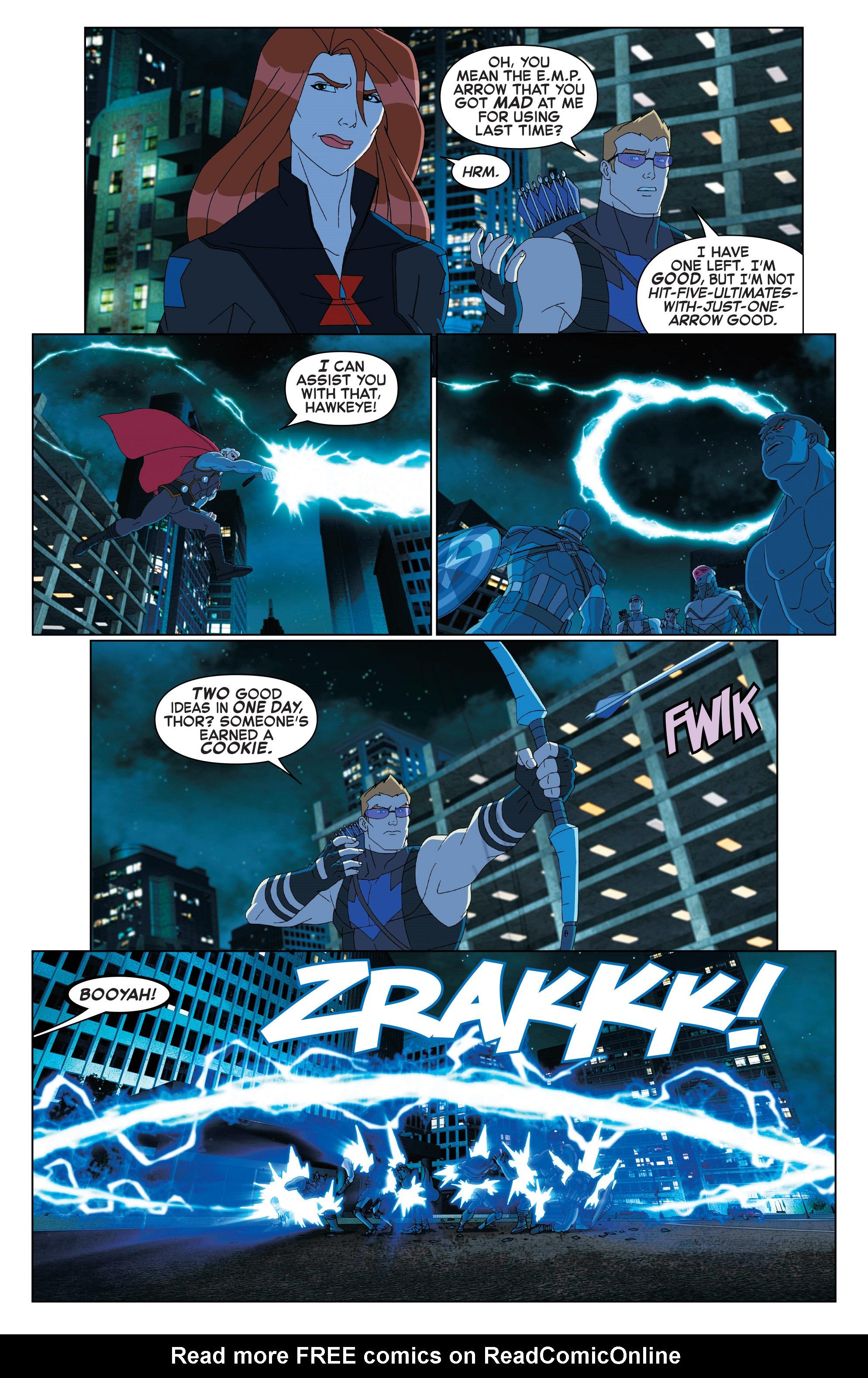 Read online Marvel Universe Avengers: Ultron Revolution comic -  Issue #2 - 19