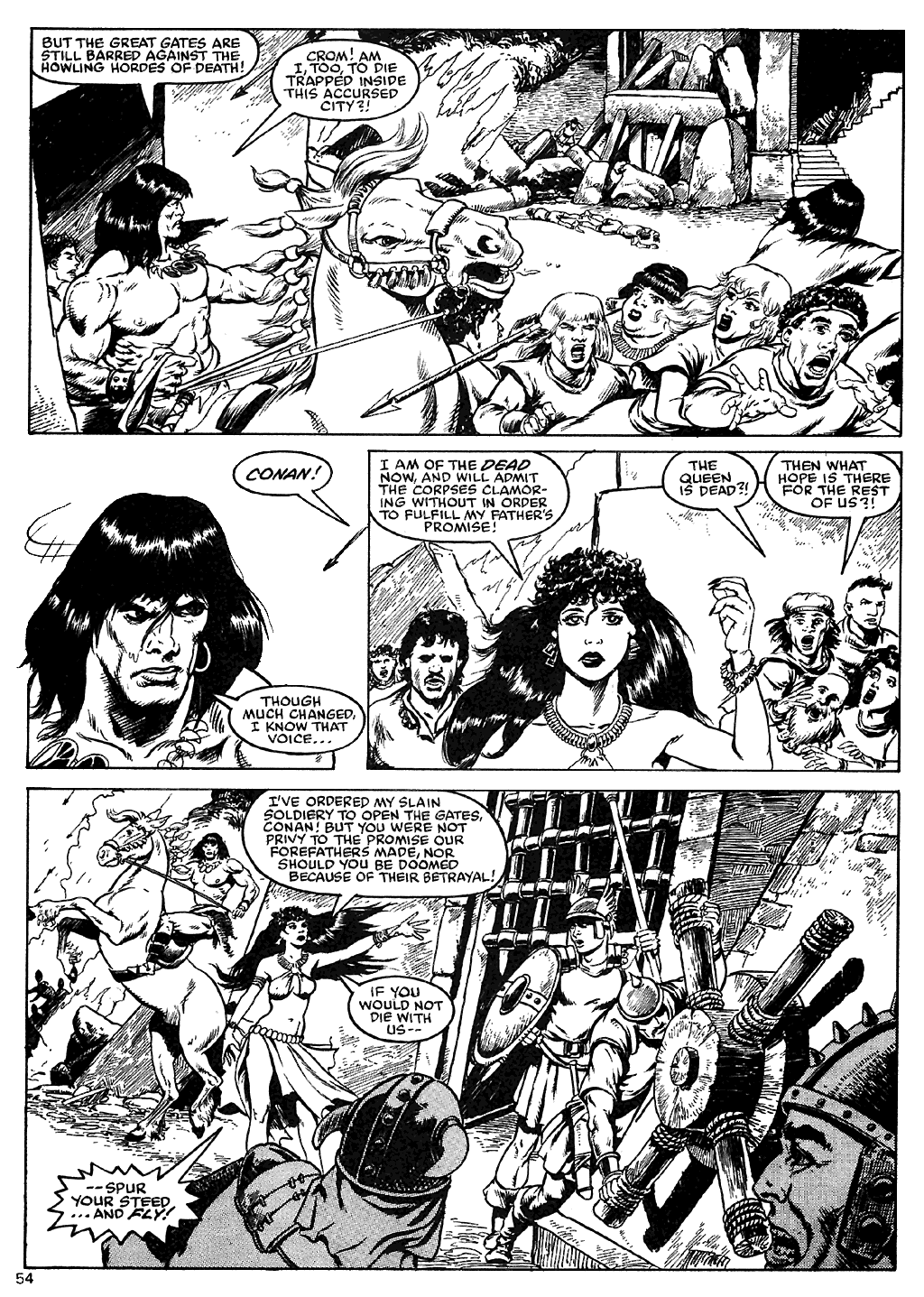 The Savage Sword Of Conan Issue #110 #111 - English 52