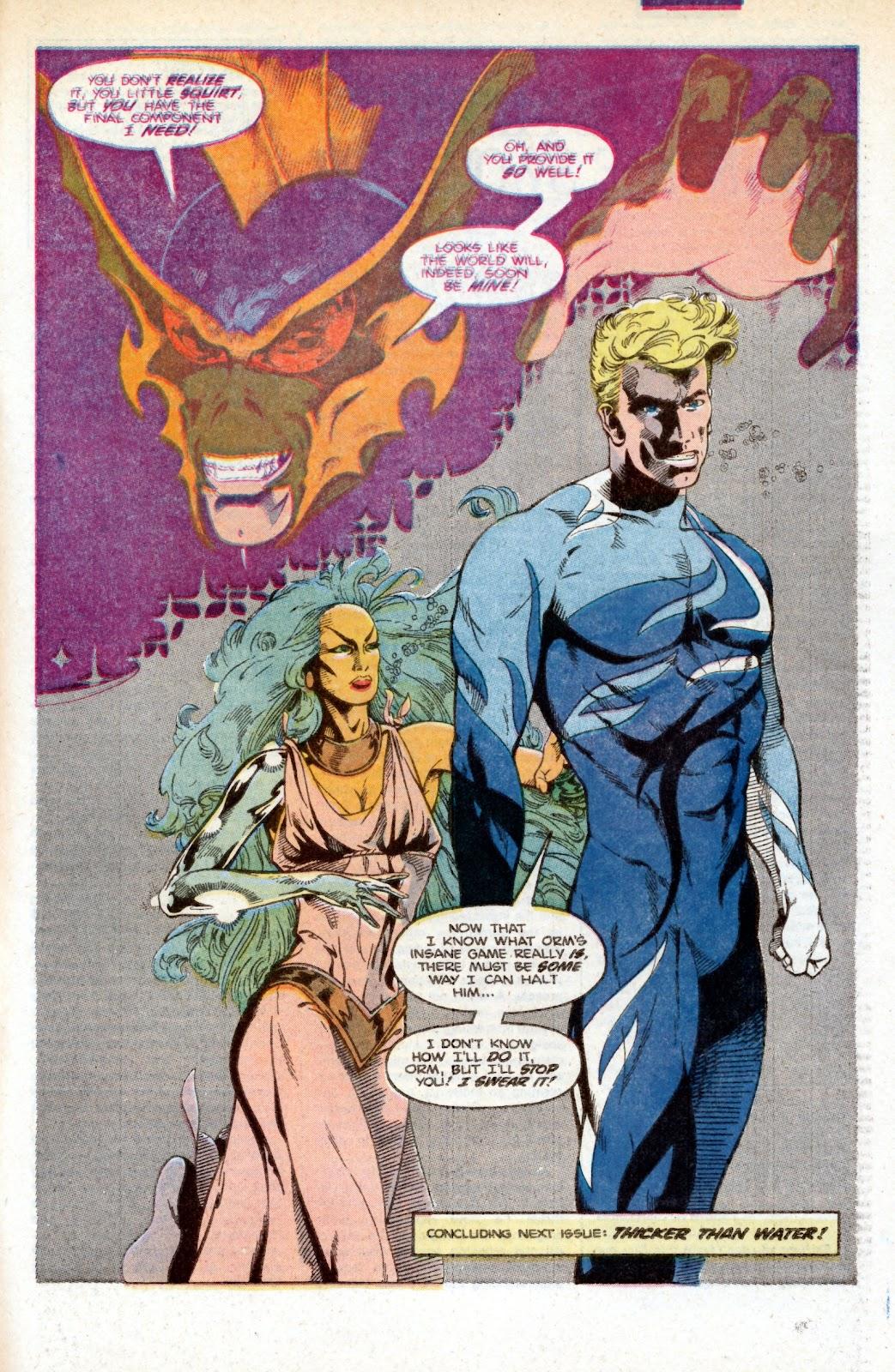 Aquaman (1986) Issue #3 #3 - English 34