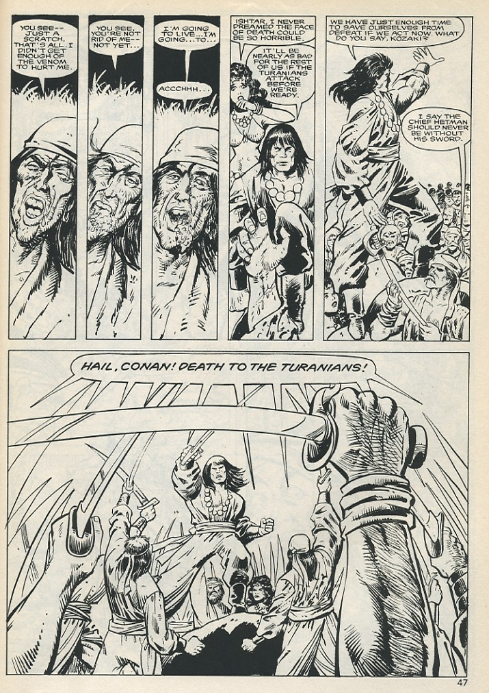 The Savage Sword Of Conan Issue #131 #132 - English 47