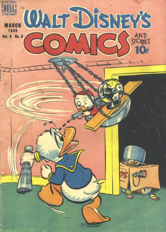 Walt Disneys Comics and Stories 102 Page 1