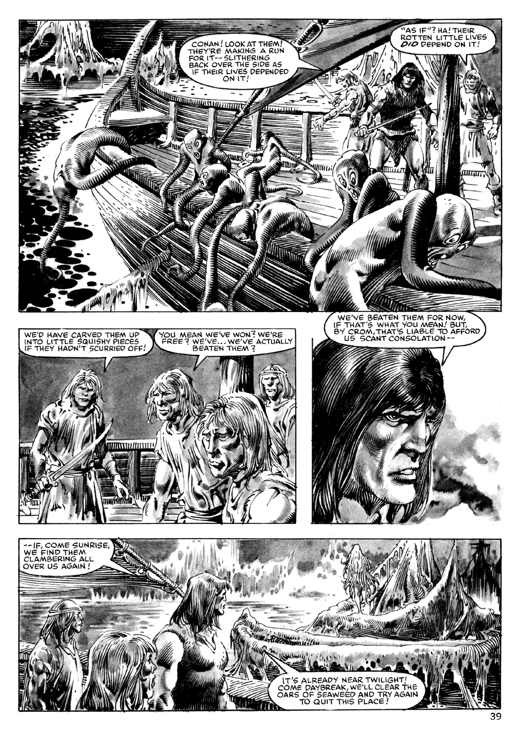 The Savage Sword Of Conan Issue #101 #102 - English 39
