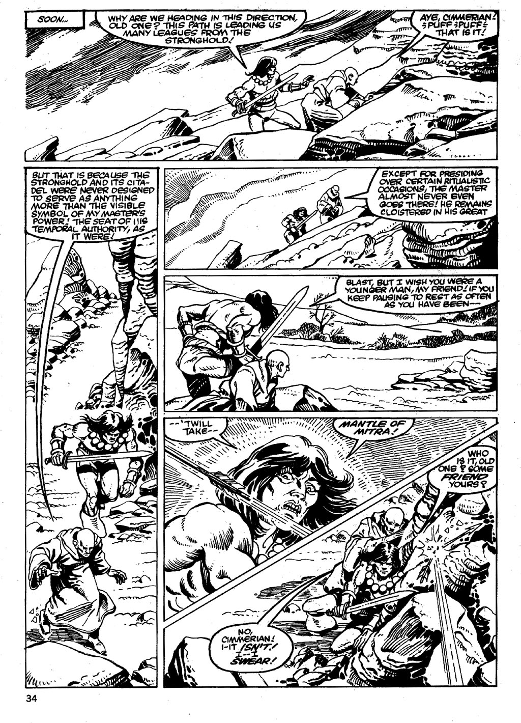 The Savage Sword Of Conan Issue #86 #87 - English 34