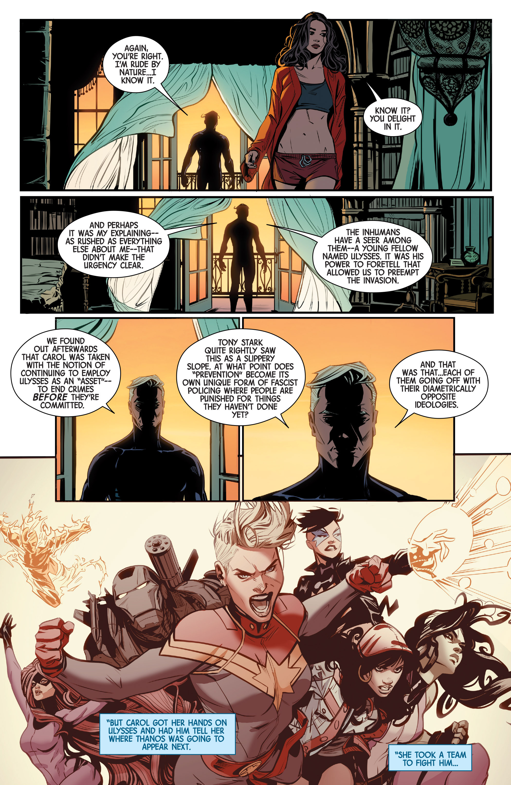 Read online Scarlet Witch (2016) comic -  Issue #9 - 11