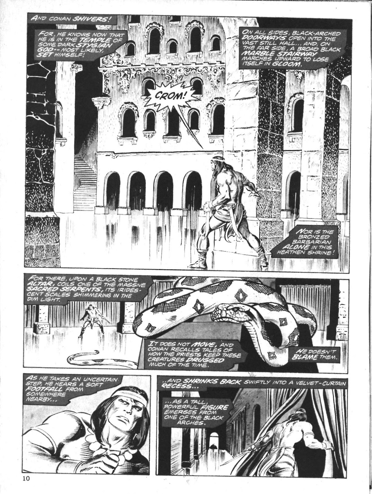 The Savage Sword Of Conan Issue #10 #11 - English 10